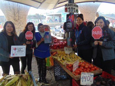 Difunden campaña preventiva en Plaza de Abastos de La Serena