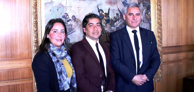 Director Nacional de SENDA realizó intensa visita a Región de O'Higgins