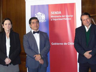 Delegación de organismo argentino de drogas visita Chile para conocer el trabajo de SENDA