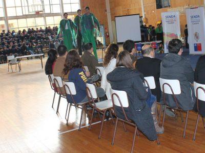 Con diferentes actividades la Provincia de Chiloé se unió al Mes de la Prevención