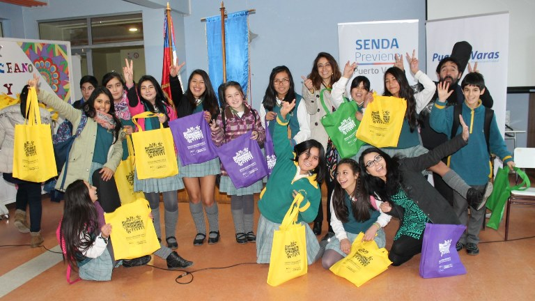 SENDA Previene Puerto Varas organizó jornada con talentos escolares