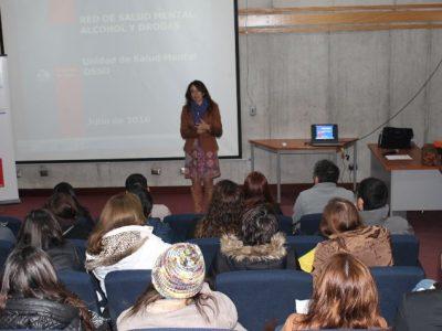 SENDA y Servicio de Salud de Osorno realizan capacitación a profesionales de centros de tratamiento