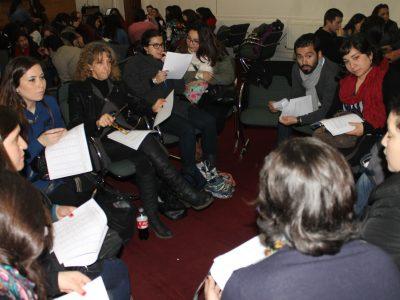 SENDA Previene y finalistas del festival de la voz comparten once saludable