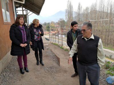 Directora de SENDA Valparaíso y Gobernadora de Los Andes recorren dependencias de centro de rehabilitación de drogas y alcohol CREHAD
