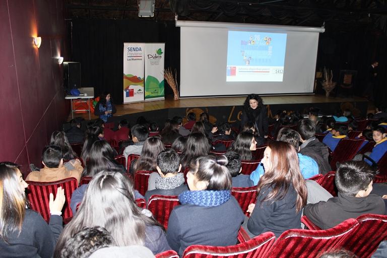 Más de 300 estudiantes de Los Muermos promovieron la importancia de la prevención del consumo de drogas y alcohol