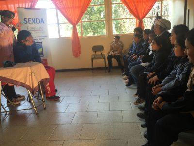 Cuando nos necesites, estaremos para ti: es el mensaje de SENDA Previene Santo Domingo a través de foro-teatro