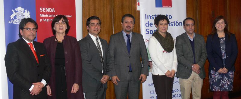 SENDA firma convenio con IPS para implementar programa Trabajar con Calidad de Vida