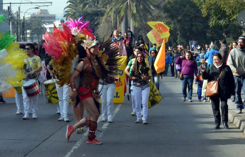 Con un carnaval por la Prevención SENDA Valparaíso lanza campaña de Alcohol y firma compromiso intersectorial en Comisión Regional de Drogas
