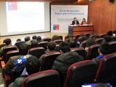 Director Nacional se reunió con agentes preventivos de La Araucanía