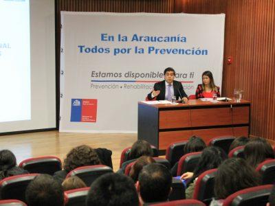 Director de SENDA reforzó campaña «Cuida tus Límites» en visita a la Araucanía