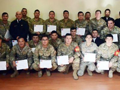SENDA finaliza capacitación a funcionarios de la Armada de Chile