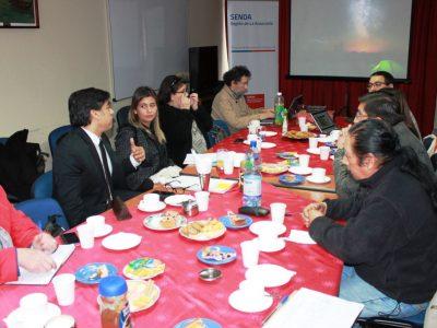 Consejo Consultivo de la Sociedad Civil de Senda Araucanía expuso gestión a Director Nacional