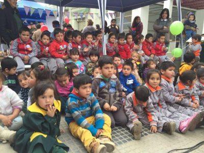 Andacollo celebra el Día de la Prevención con masiva intervención urbana