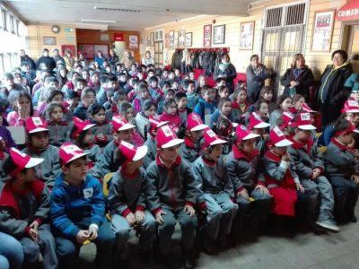 Comunidad educativa de la Escuela Folilco de Los Lagos celebraron Día de la Prevención