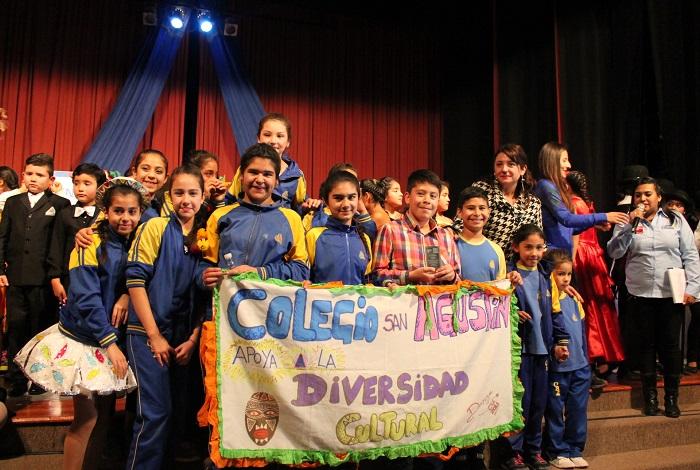 Primer festival Inter escolar de Senda Previene reunió a más de 100 artistas