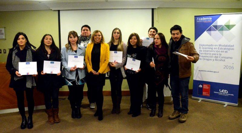 SENDA realizó Seminario de Buenas Prácticas Laborales en Prevención de Consumo de Drogas y Alcohol