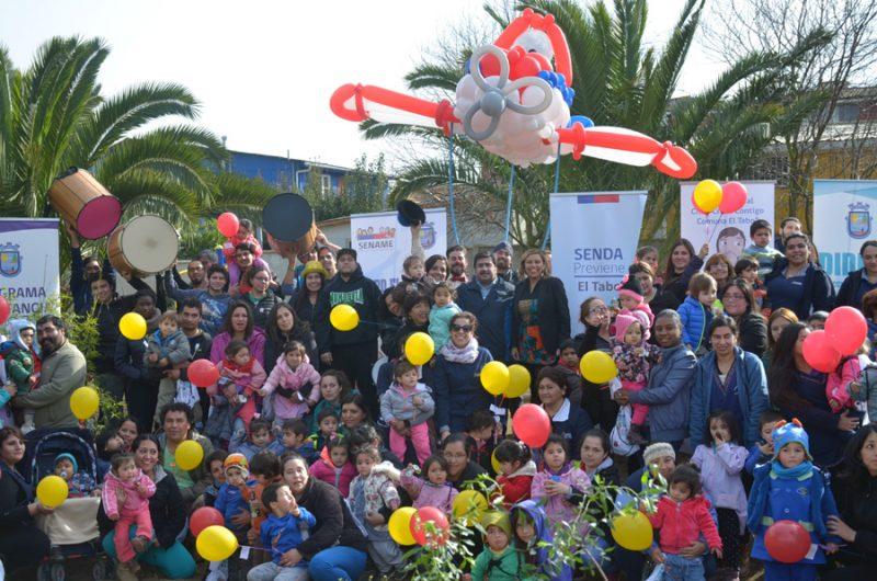 Comunidad de El Tabo recupera un valioso espacio público y marcha por la Prevención