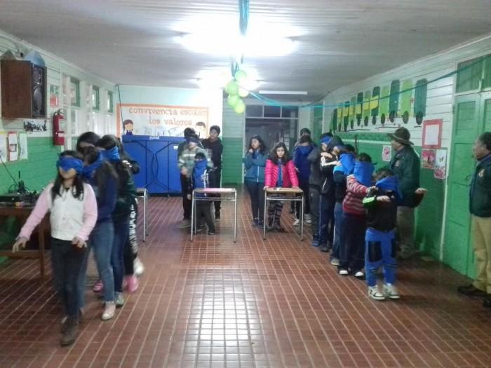 """Profesionales """"Actuar a Tiempo"""" de SENDA Previene Valdivia expusieron temáticas preventivas a Grupo Scouts Angachilla"""