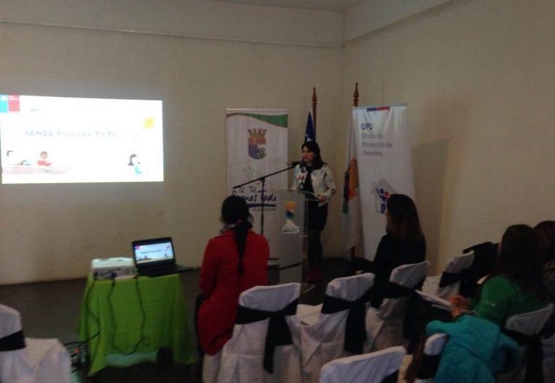 SENDA Previene Tiltil encabeza seminario sobre «Enfoque de Derechos»