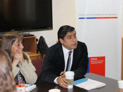 Director nacional se reúne con Comité Técnico Previene de la región