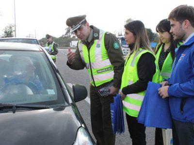 Autoridades regionales hacen llamado a conductores a tomar consciencia al iniciar fin de semana largo