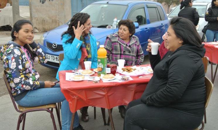 Organizan segunda jornada de integración social en Cerro Navia