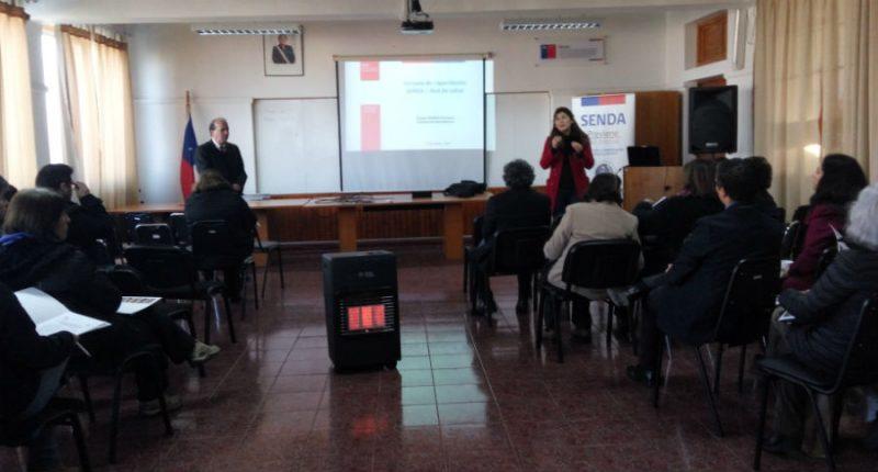 A cuidar el futuro: Establecimientos educacionales de San Antonio se capacitan sobre el consumo en población escolar