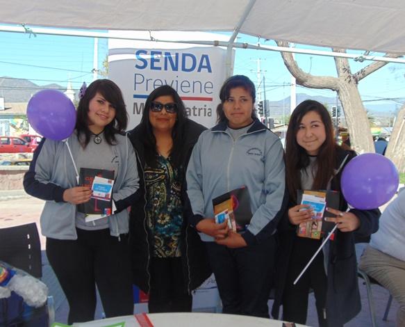 Realizan primera Feria de Seguridad Pública en Monte Patria