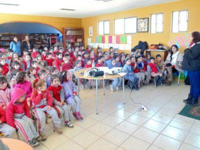 Niños y niñas de Algarrobo aprendieron conversando sobre prevención y autocuidado