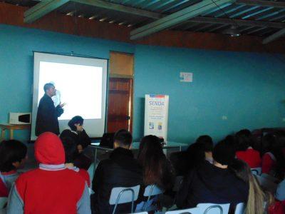 SENDA Previene de Puerto Montt recibió certificación que destaca su trabajo preventivo