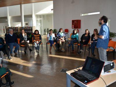 SENDA Previene Santa María realiza capacitación de Parentalidad positiva y Ciclo vital