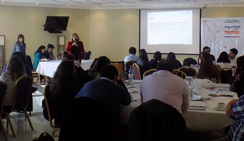 Directora SENDA Valparaíso expuso en jornada de capacitación a funcionarios de equipos comunales