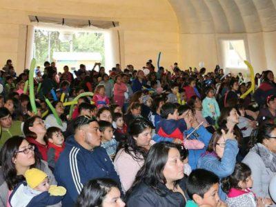 Al ritmo del Perro Chocolo, niños y niñas de El Tabo celebraron su día