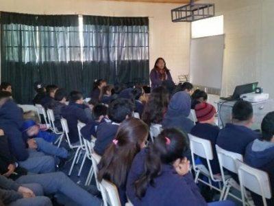 Realizan talleres preventivos a escolares de Ovalle