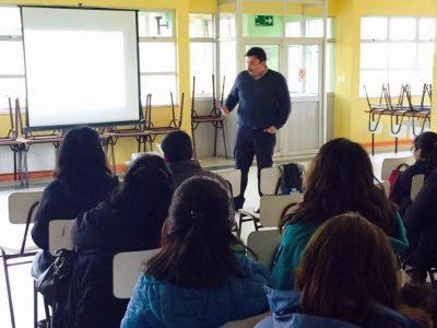 Estudiantes valdivianos cierran año escolar con actividades comunitarias