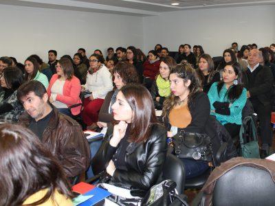 SENDA y SENAME capacitan a profesionales de Centros de Tratamiento de drogas de la Región