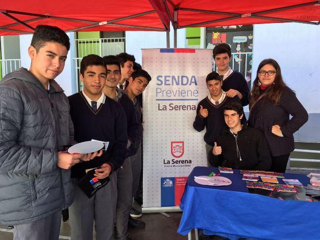Realizan operativo preventivo en Colegio José Manuel Balmaceda
