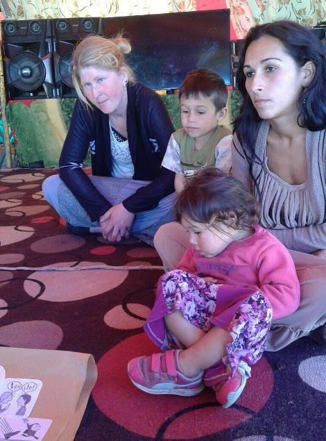 Familias gitanas de La Serena participan en talleres preventivos