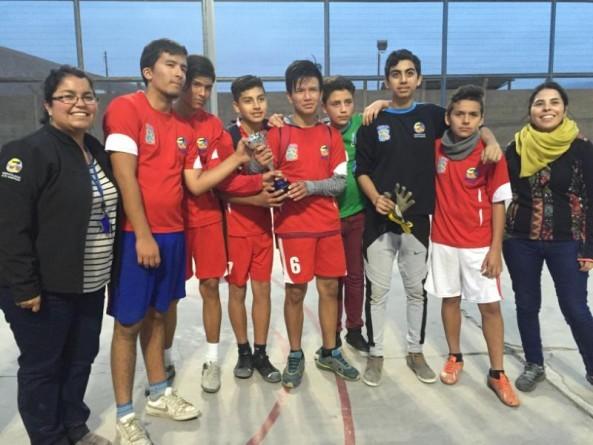 SENDA Previene realizó torneo de fútbol entre Villa Santa Rosa y Villa Frei para evitar el consumo de drogas y alcohol