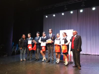 SENDA Victoria reconoció a ganadores de debates  estudiantiles