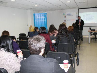 SENDA Los Ríos realizó jornada de sensibilización a empresas en torno a la integración social de personas en procesos de recuperación