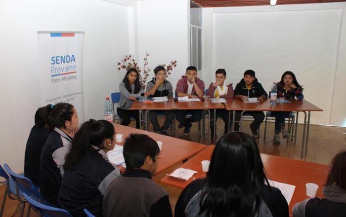 Cerca de 50 estudiantes  de la región participarán en debate preventivo de consumo de alcohol y otras drogas en Iquique