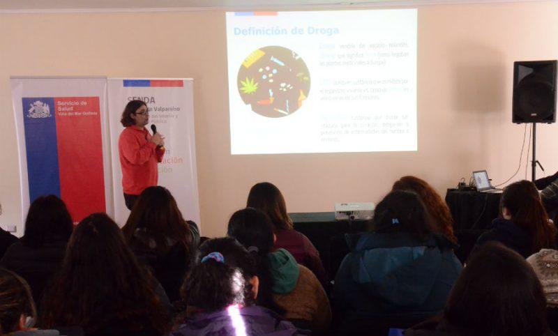 SENDA y MINSAL capacitan a funcionarios de atención primaria de salud en Valparaíso