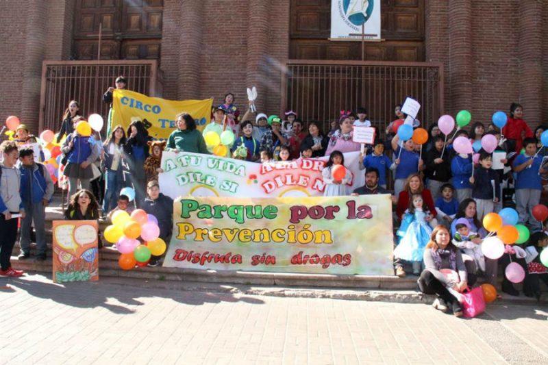 SENDA Previene Putaendo realiza masiva 4° marcha por la prevención
