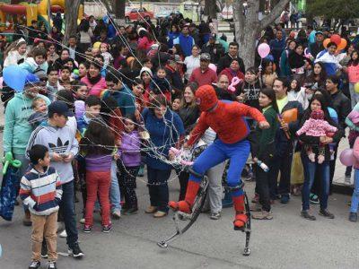 Más de 500 niños y niñas celebraron su día en Santa María