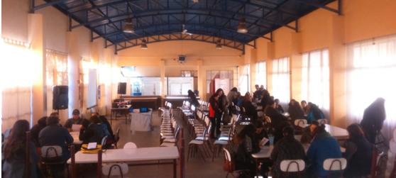 Escuela para padres en Parque Futangue