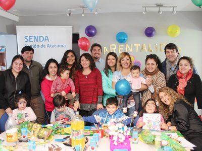 Senda Atacama realizó jornada para fortalecer el vínculo de la familia