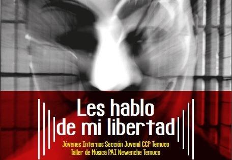 Con apoyo de SENDA Araucanía, jóvenes del CCP Temuco presentaron su álbum «Les hablo de mi libertad»