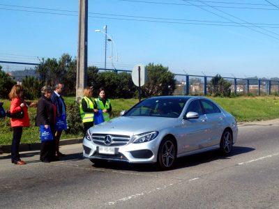 Directora de Senda, alcaldesa de Viña del Mar, Conaset y Carabineros hicieron llamado a la responsabilidad vial durante fin de semana largo