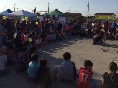 Con actividades deportivas y recreativas promueven la prevención en Punta Mira Sur